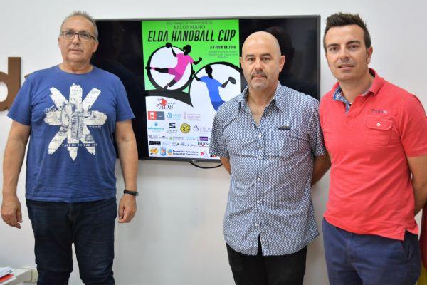 Más de 70 equipos de balonmano se medirán en el Torneo Internacional 'Elda Handball Cup'