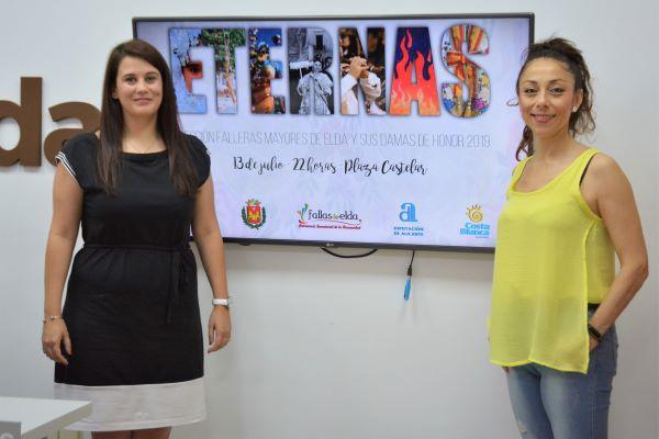 La Plaza Castelar de Elda acogerá la elección de las Falleras Mayores de Elda y sus Damas de Honor de 2019