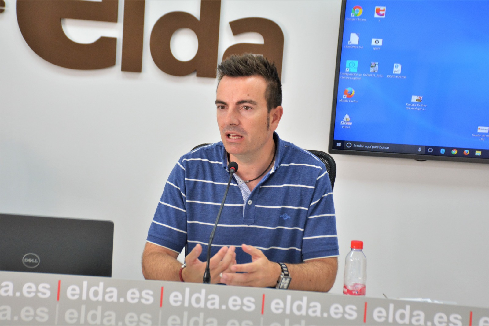 El Ayuntamiento de Elda adjudica la contrata para la mejora del alumbrado en el Nuevo Pepico Amat, la Pista de Atletismo y el Pabellón Juan Carlos Verdú