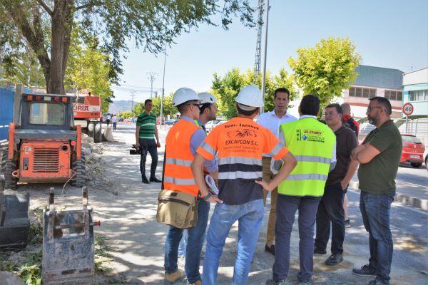 Comienzan las obras de modernización del Polígono Industrial Campo Alto de Elda