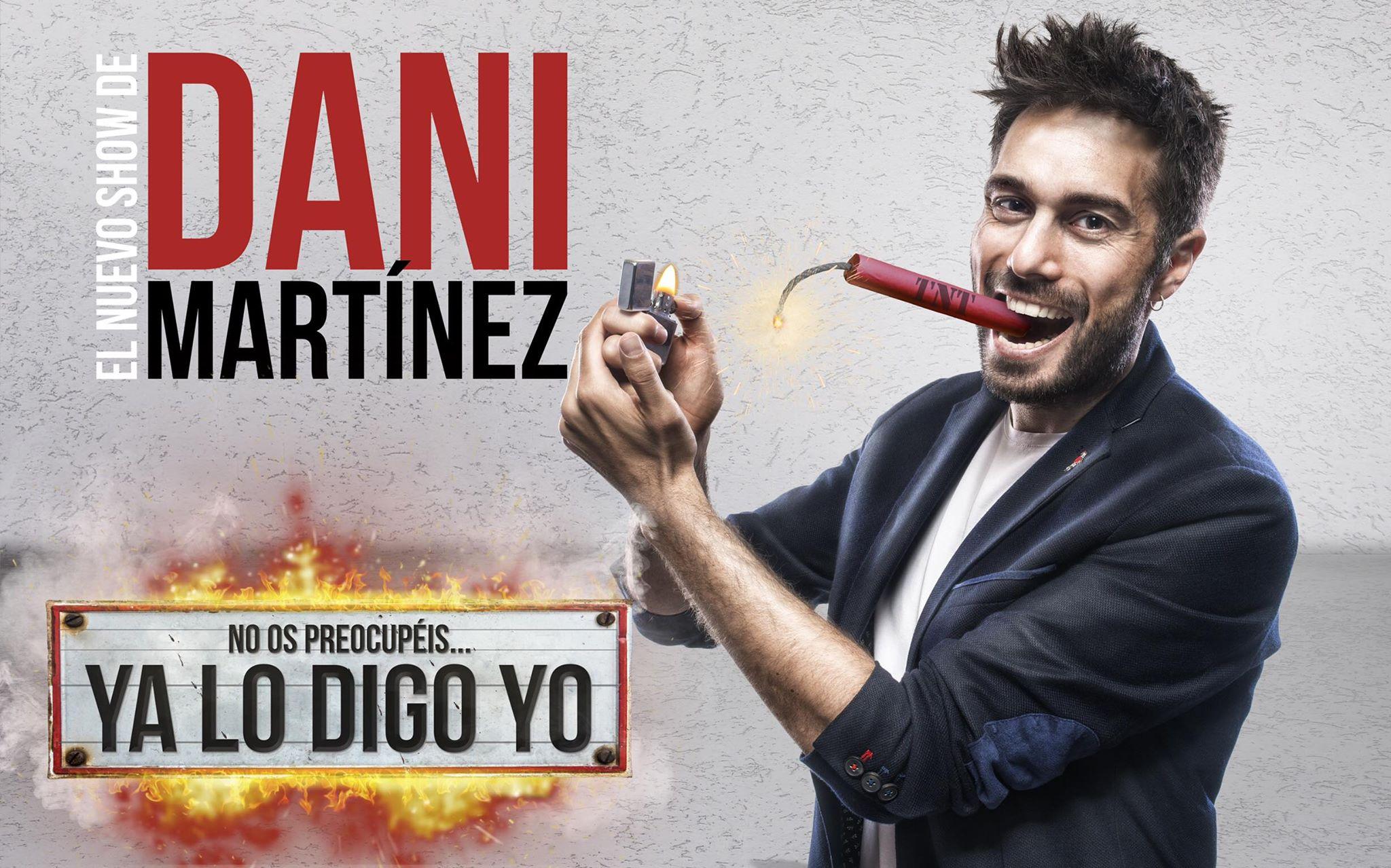 El humor de Dani Martínez llega al Teatro Castelar con su nuevo show 'No os preocupéis… ya lo digo yo'