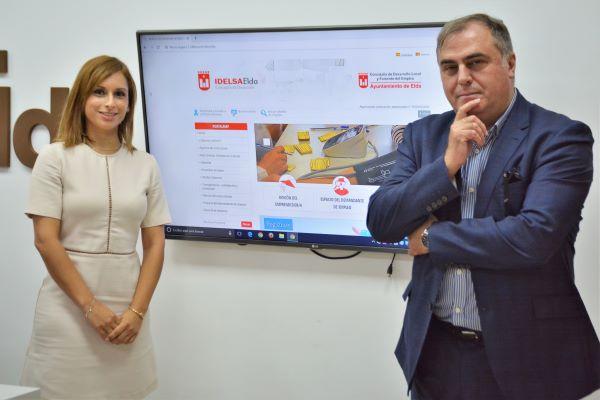 El Ayuntamiento de Elda presenta 'Portalemp', el portal para emprendedores, personas en búsqueda de empleo y empresas