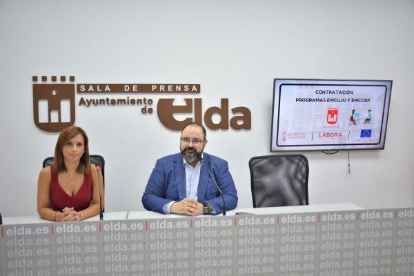 El Ayuntamiento de Elda destinará más de 1,2 millones de euros para la contratación de jóvenes titulados y personas mayores de 30 años