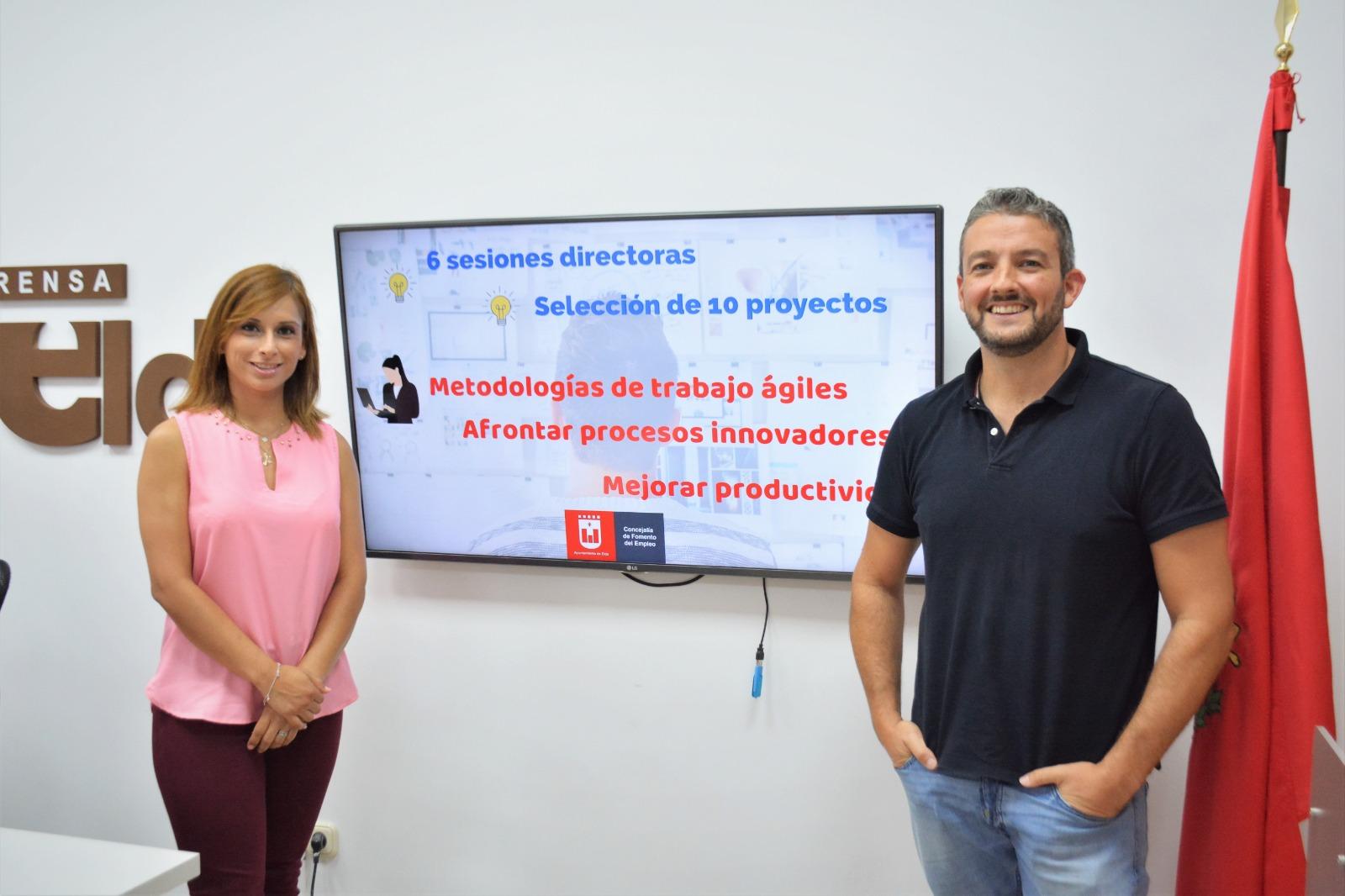 El Ayuntamiento de Elda presenta un programa de formación para emprendedores y pymes