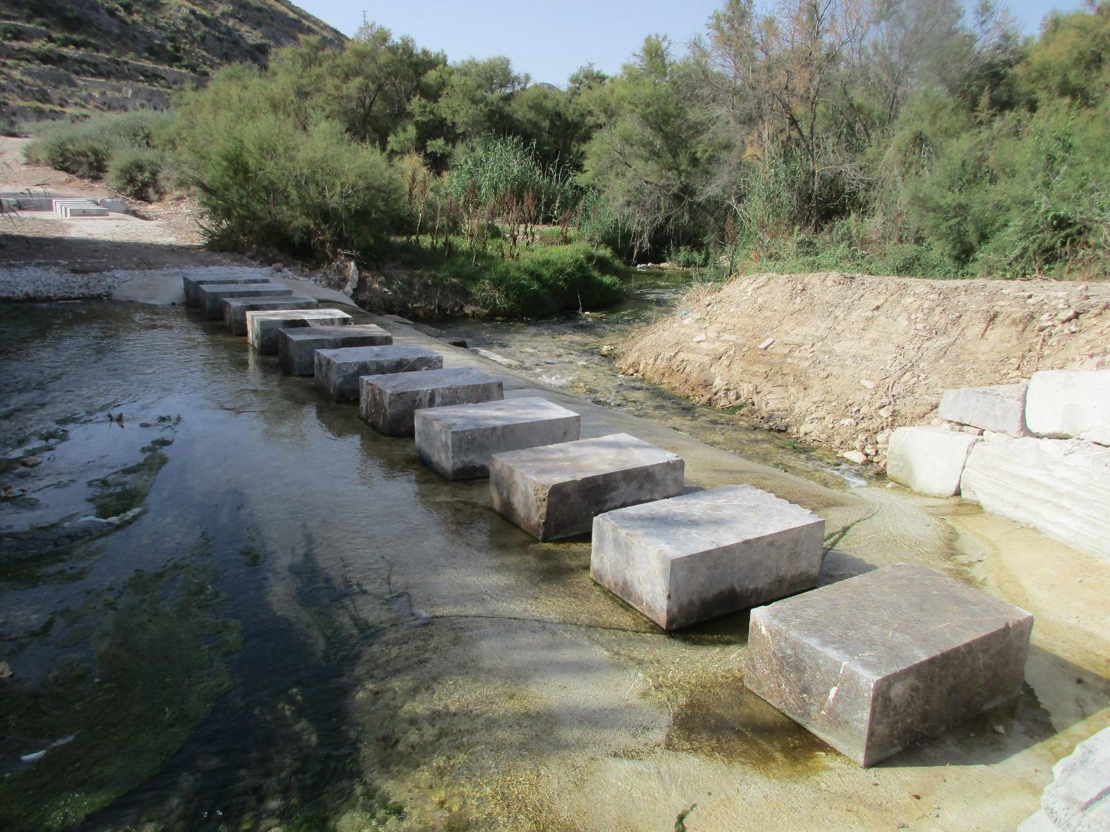 El Ayuntamiento de Elda rehabilita un paso natural del río Vinalopó desaparecido tras las lluvias torrenciales