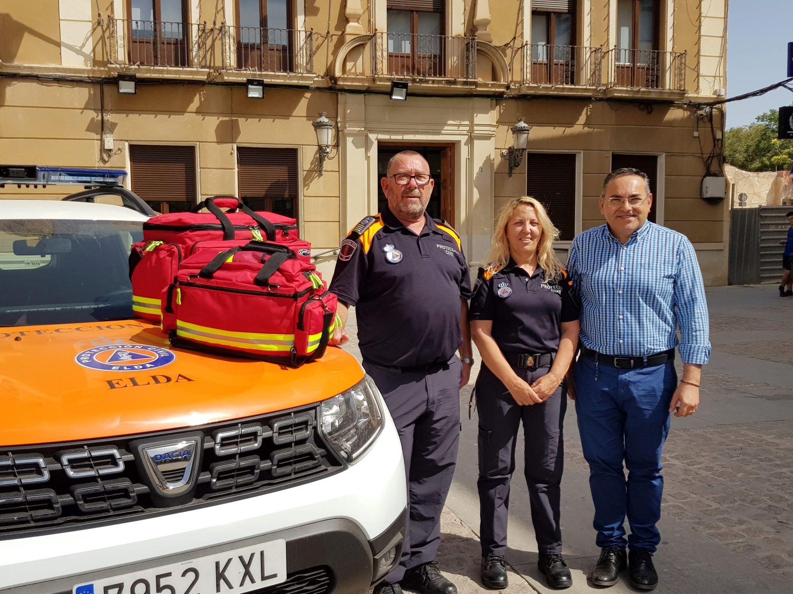 Seguridad Ciudadana adquiere dos botiquines de emergencia con material de primeros auxilios para Protección Civil