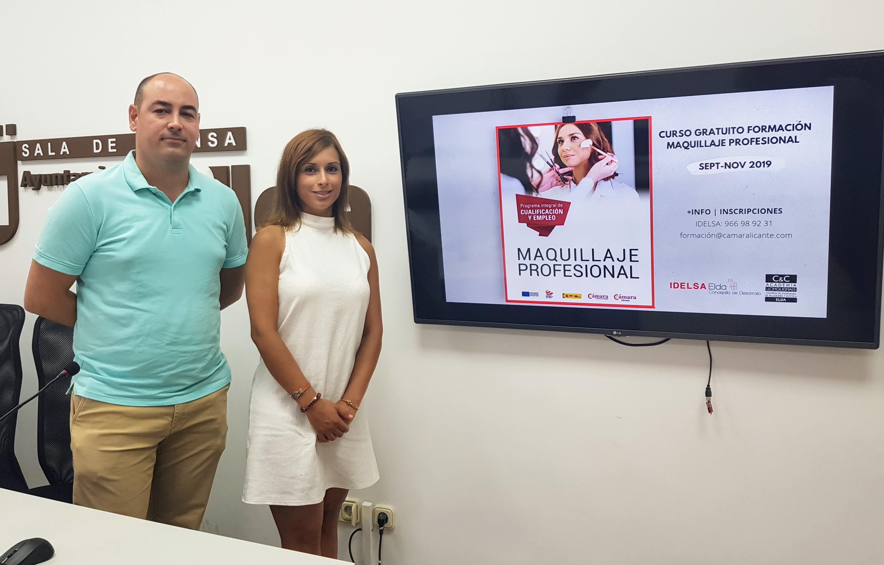Idelsa ofrece un curso gratuito de maquillaje profesional dirigido a jóvenes inscritos en el Programa de Garantía Juvenil
