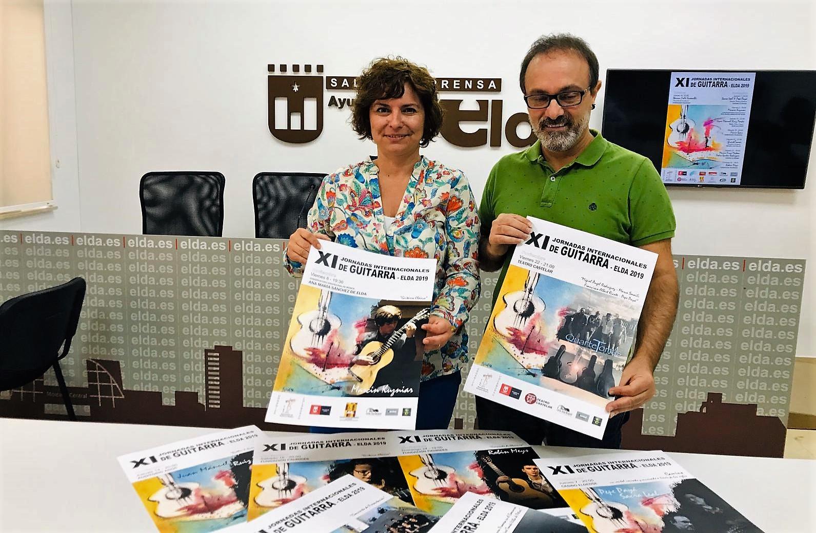 Las Jornadas de Guitarra reúnen en Elda a algunos de los mejores intérpretes del panorama internacional