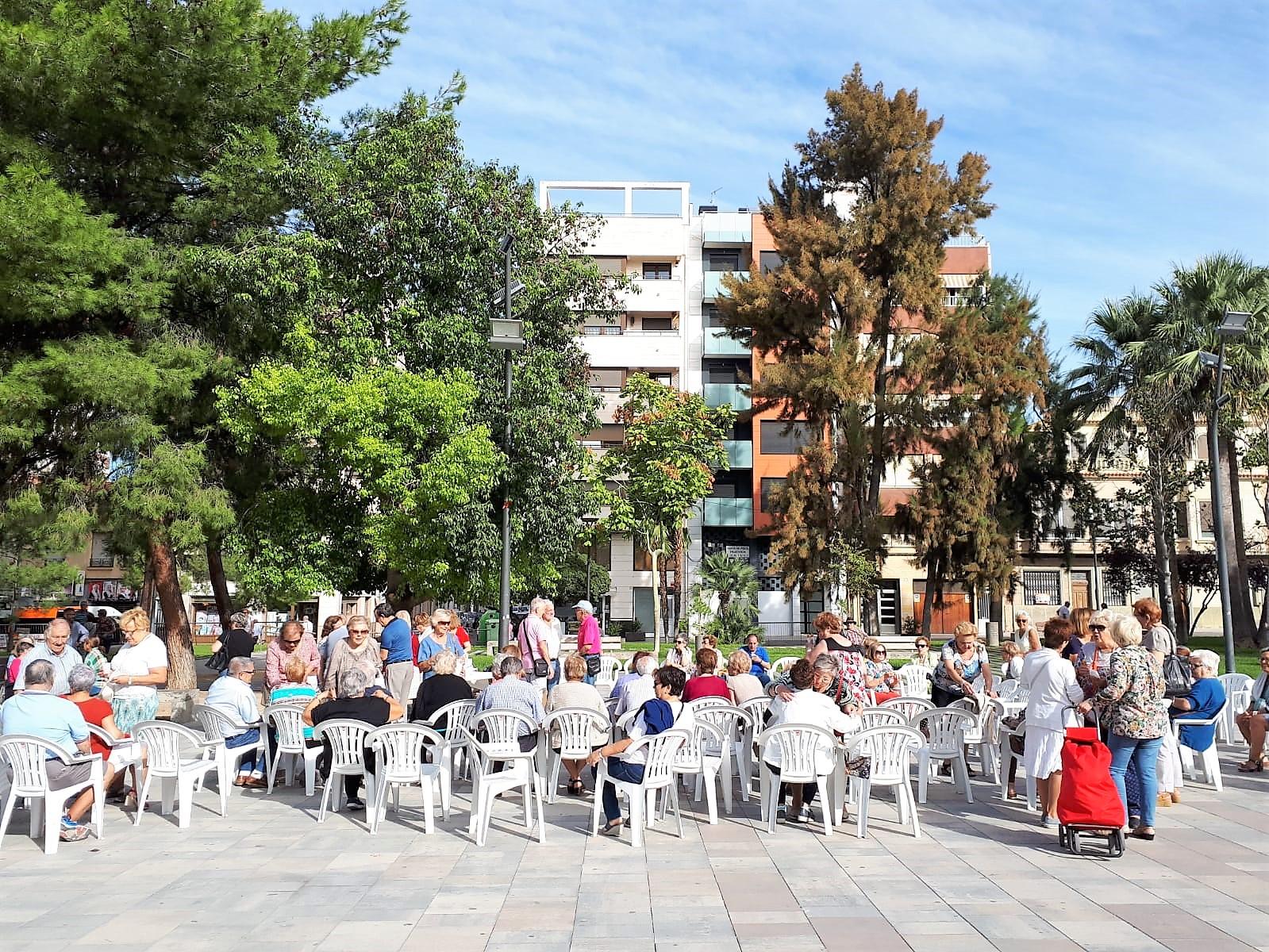 La Semana de las Personas Mayores arranca en la Plaza Castelar