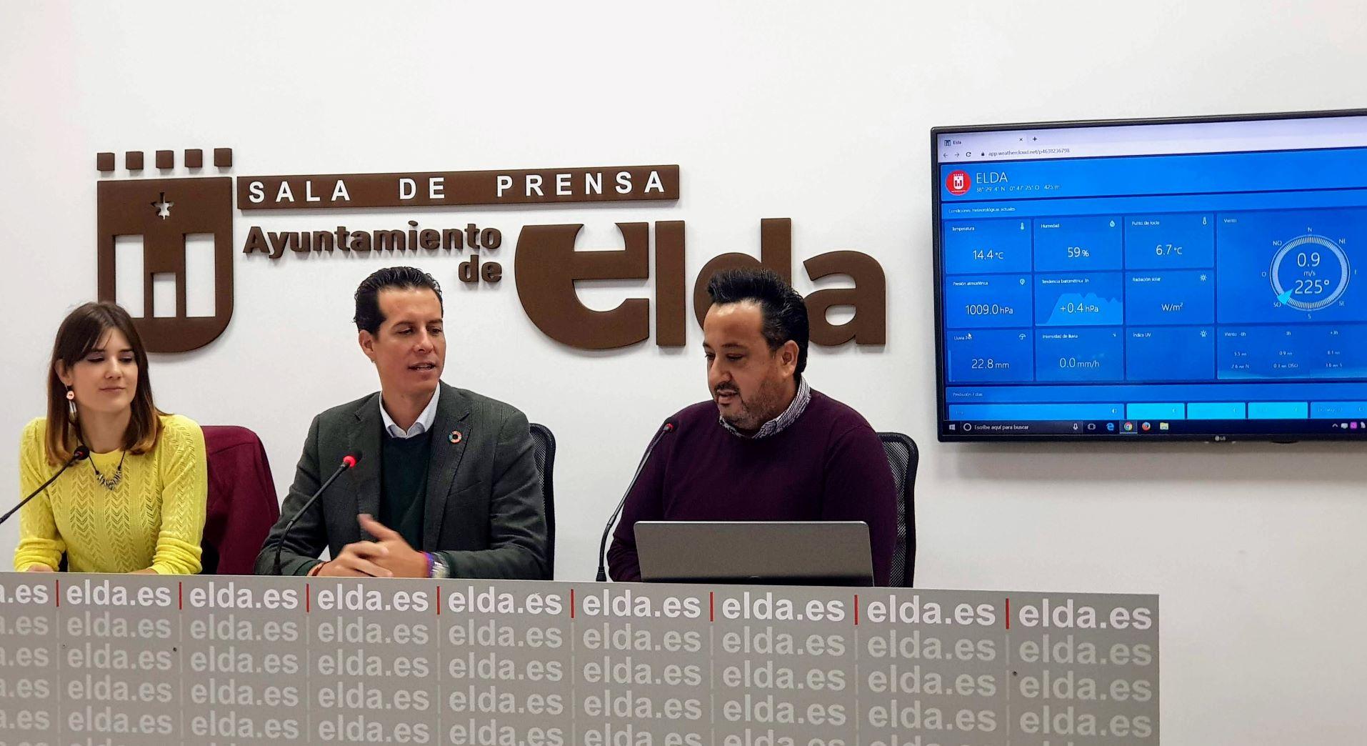 El Ayuntamiento de Elda ofrece un curso de meteorología para los colectivos asociativos y festeros