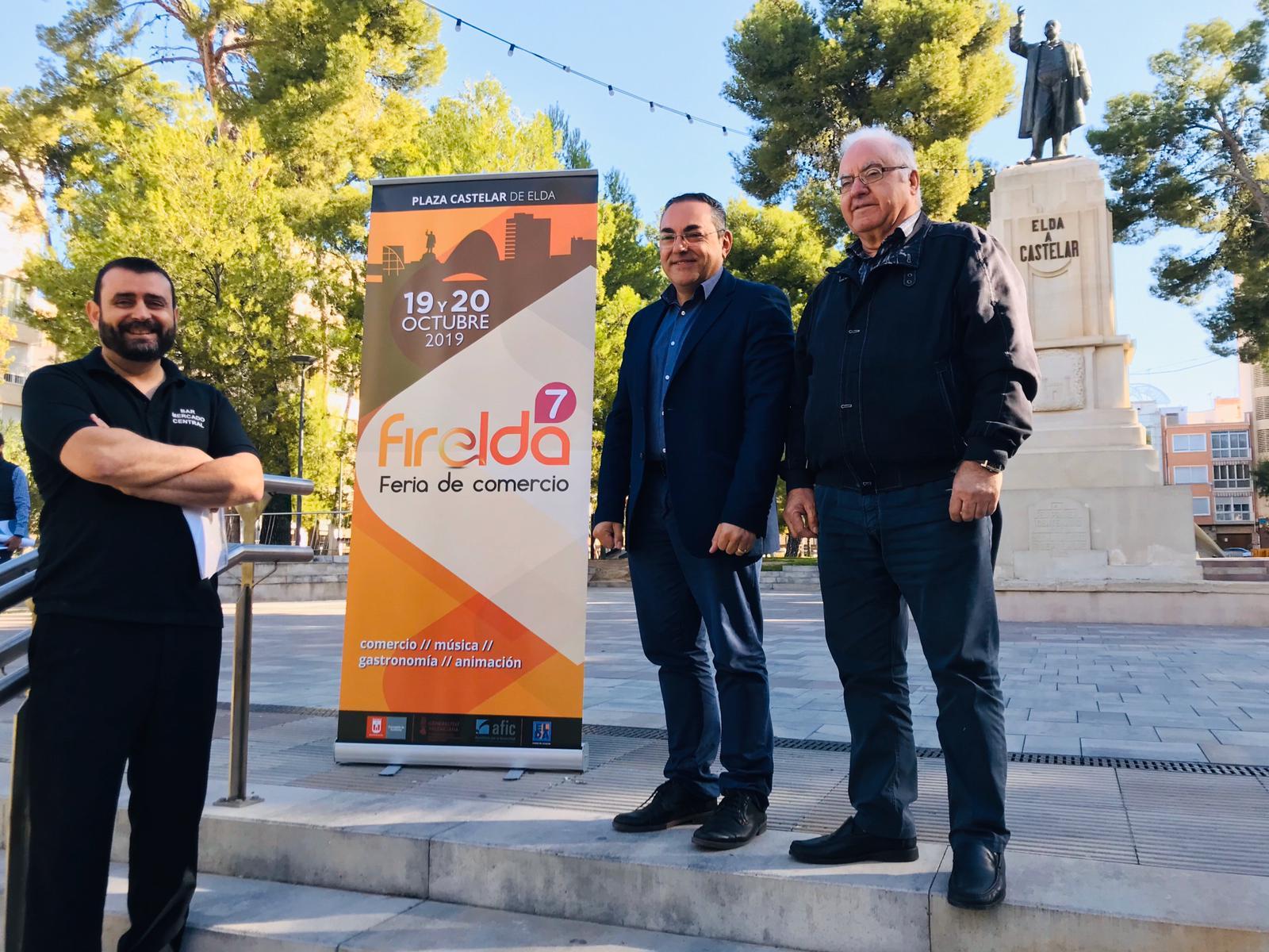 El comercio de Elda sale a la calle los días 19 y 20 de octubre con la VII edición de Firelda