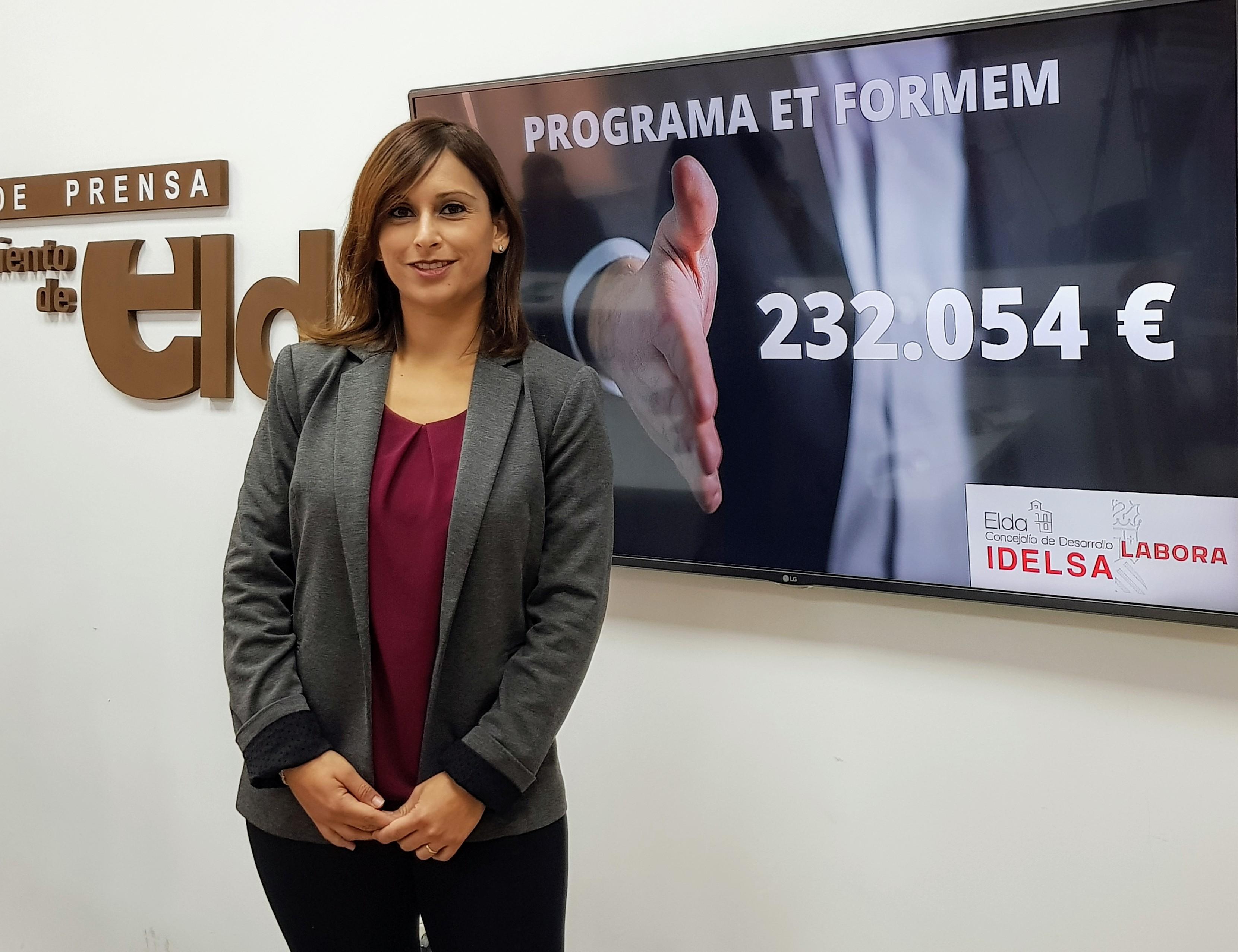 Idelsa contará con una ayuda de 232.054 euros para el programa 'Et Formem' y podrá dar formación a diez personas durante un año