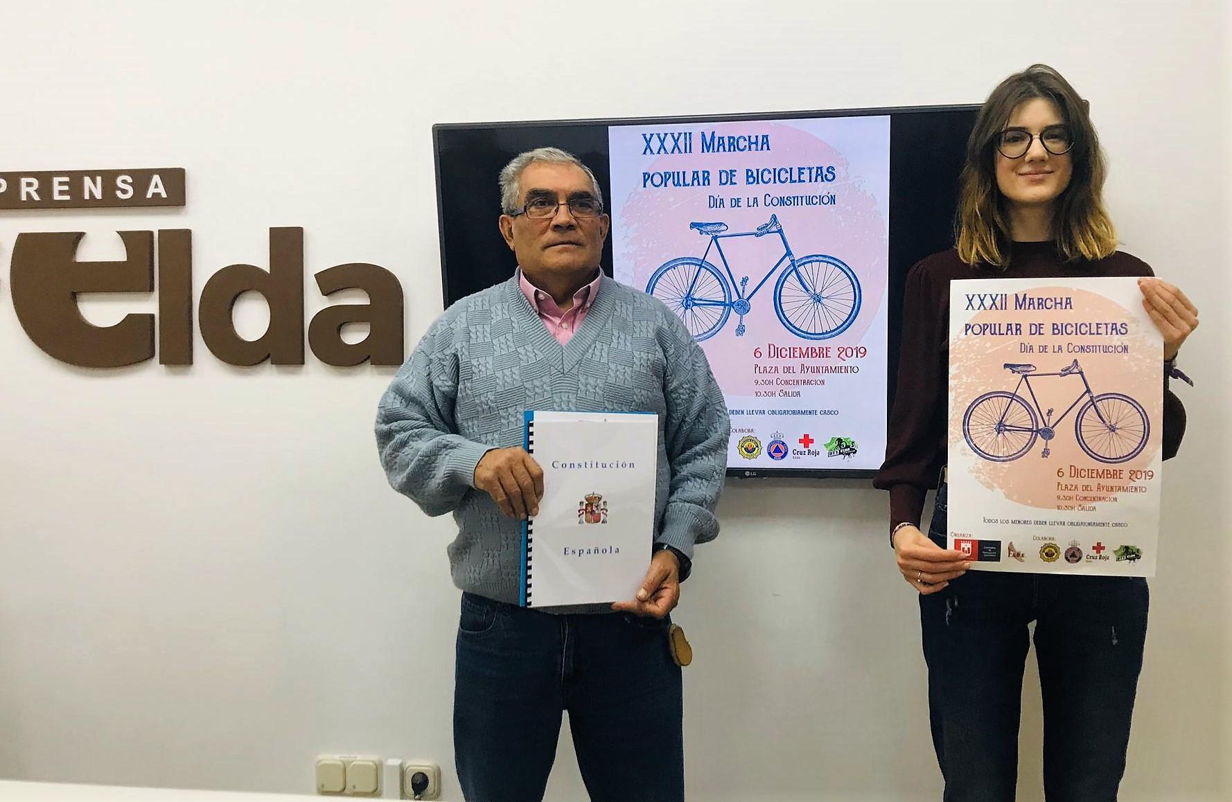 La FAVE organiza la XXXII Marcha Popular de Bicicletas para celebrar el Día de la Constitución