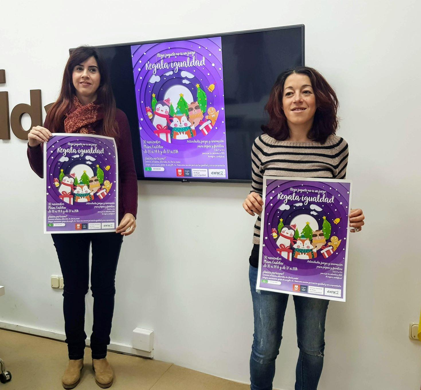El Ayuntamiento de Elda organiza la actividad 'Regala Igualdad' para fomentar la compra de juguetes no sexistas