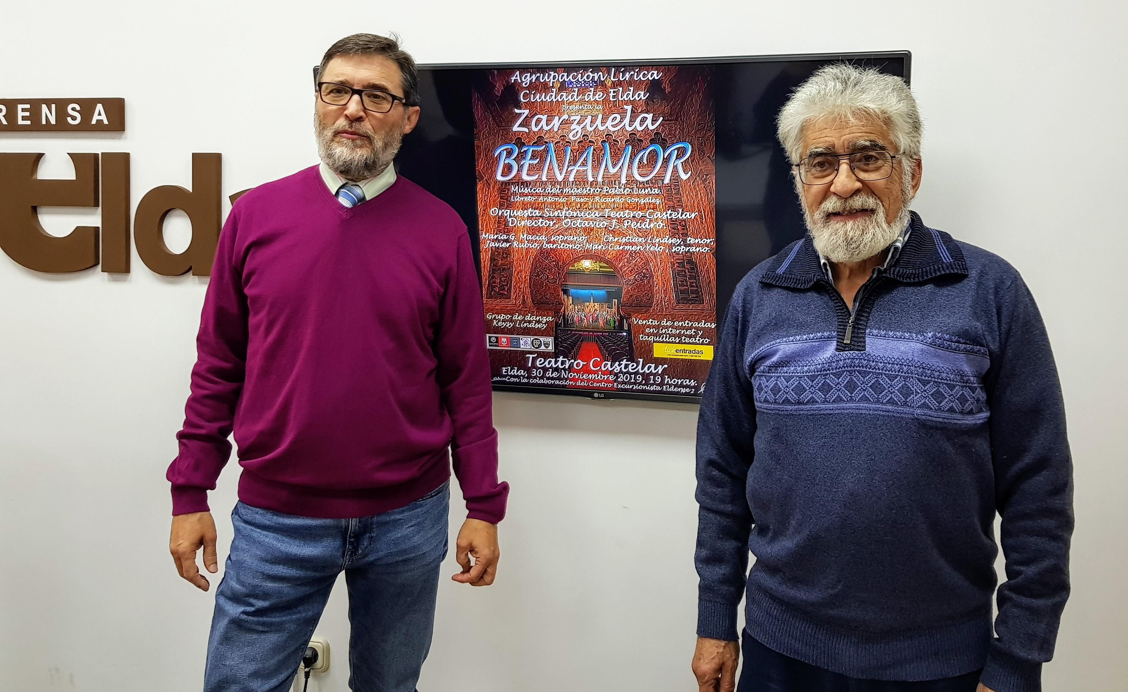 El Teatro Castelar acoge la zarzuela 'Benamor' que vuelve este sábado a los escenarios sesenta años después