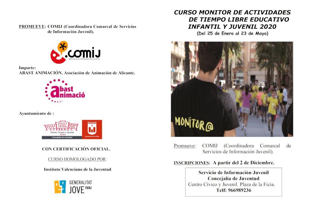 Folleto Curso Monitor 2020 COMIJ 2