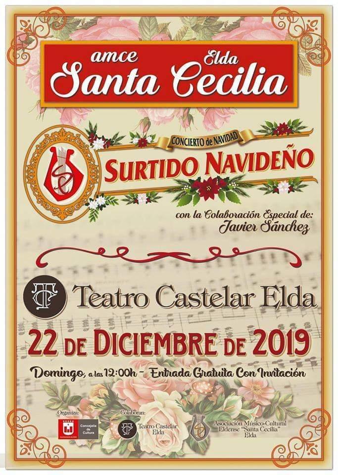 Elda vivirá la Navidad más cultural con actividades, representaciones y conciertos en el Teatro Castelar