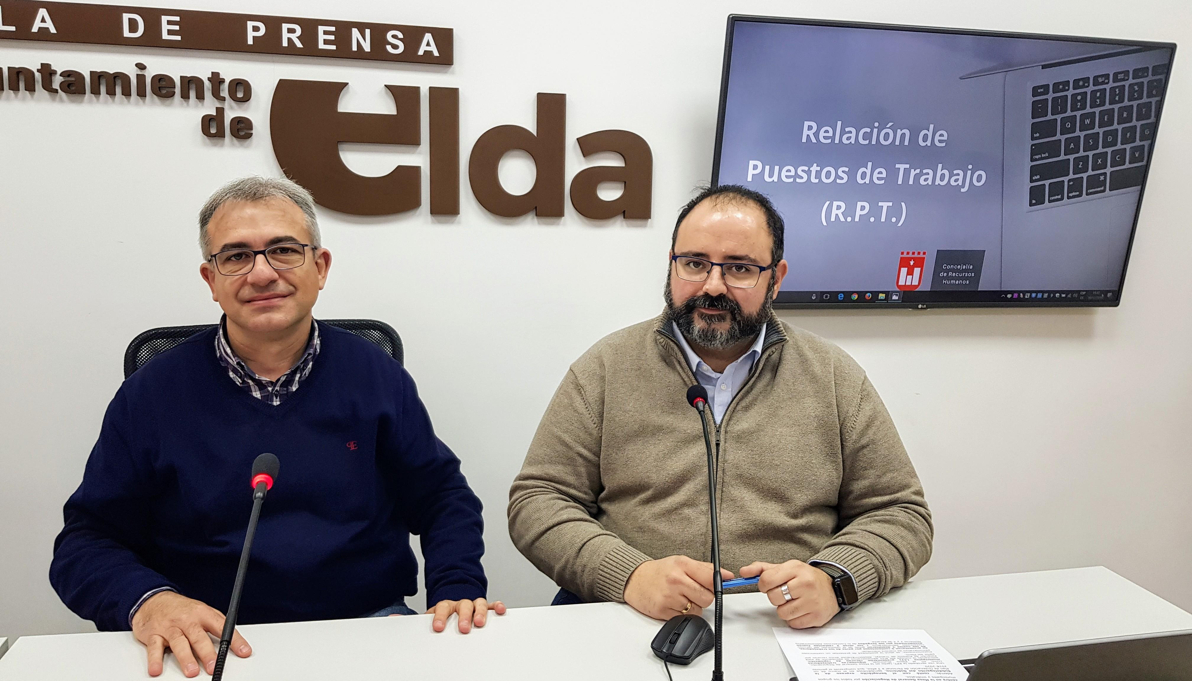 La RPT del Ayuntamiento de Elda queda aprobada de manera definitiva tras desestimar los tribunales los recursos presentados