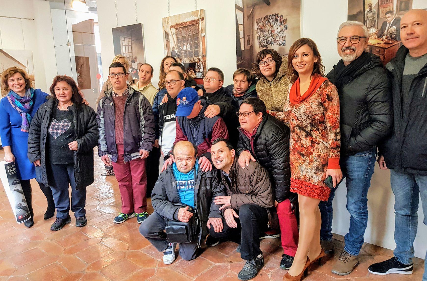 La Casa Grande del Jardín de la Música acoge una exposición con las fotografías del calendario de Asprodis