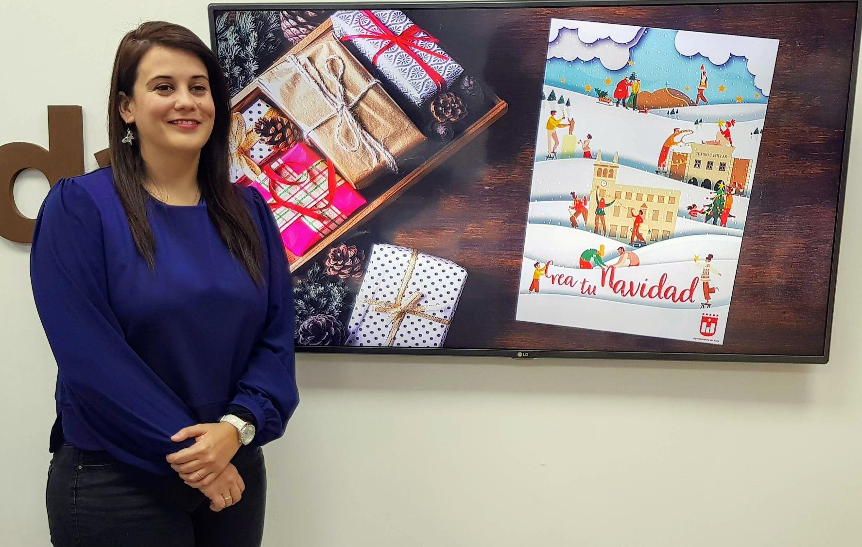 Las calles y plazas de Elda se llenarán de un ambiente festivo con la campaña 'Crea tu Navidad'