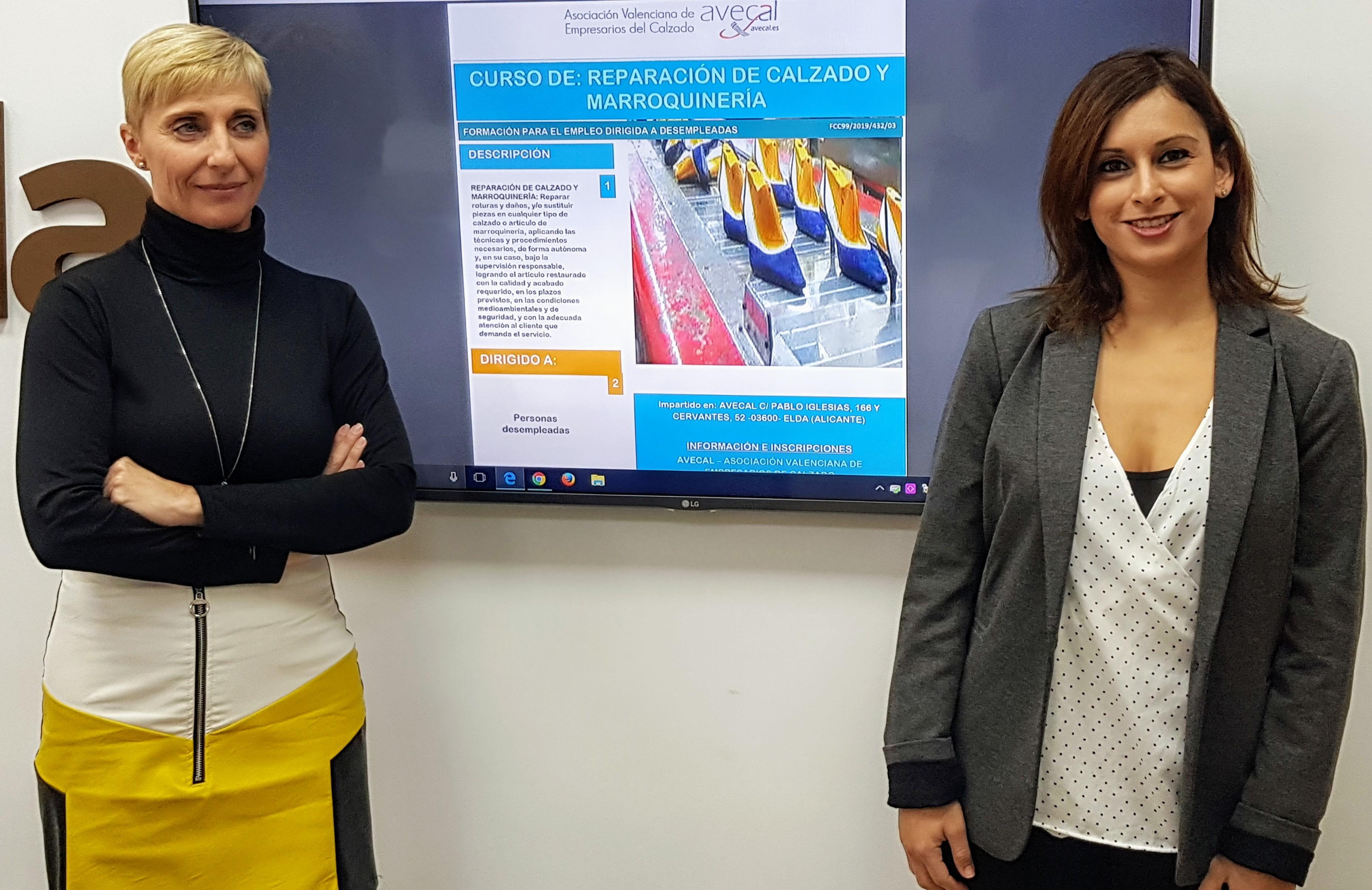 Avecal imparte un curso profesional de Reparación de Calzado y Marroquinería en colaboración con Idelsa
