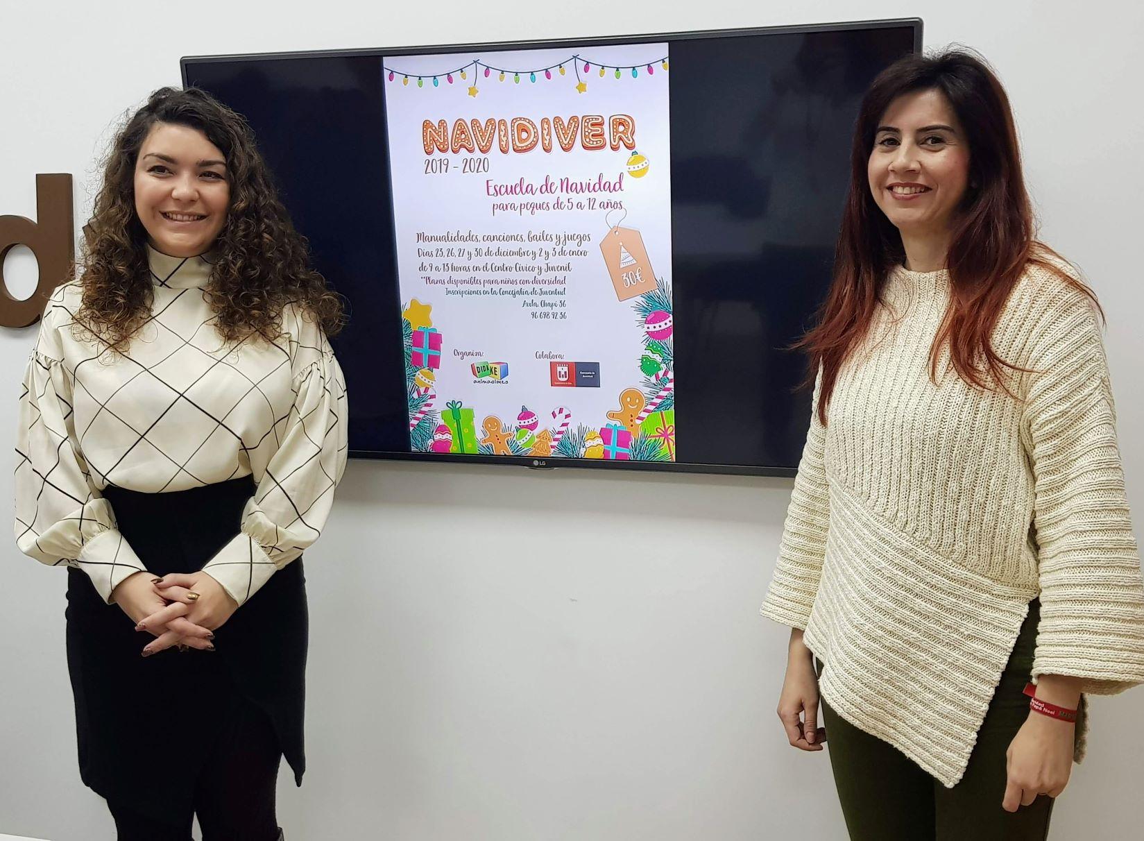La Concejalía de Juventud organiza 'Navidiver' para facilitar la conciliación familiar durante los días laborables de las fiestas navideñas