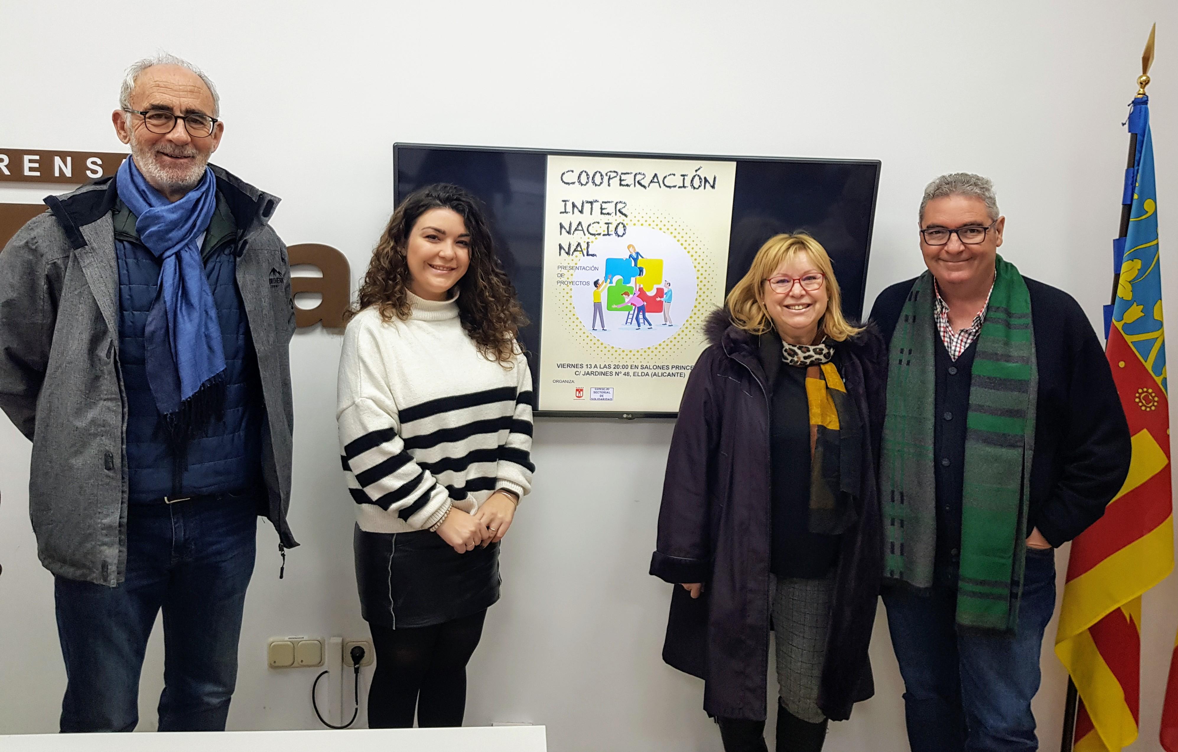 La Concejalía de Solidaridad presenta los proyectos de cooperación internacional de las ONG que cuentan con apoyo municipal
