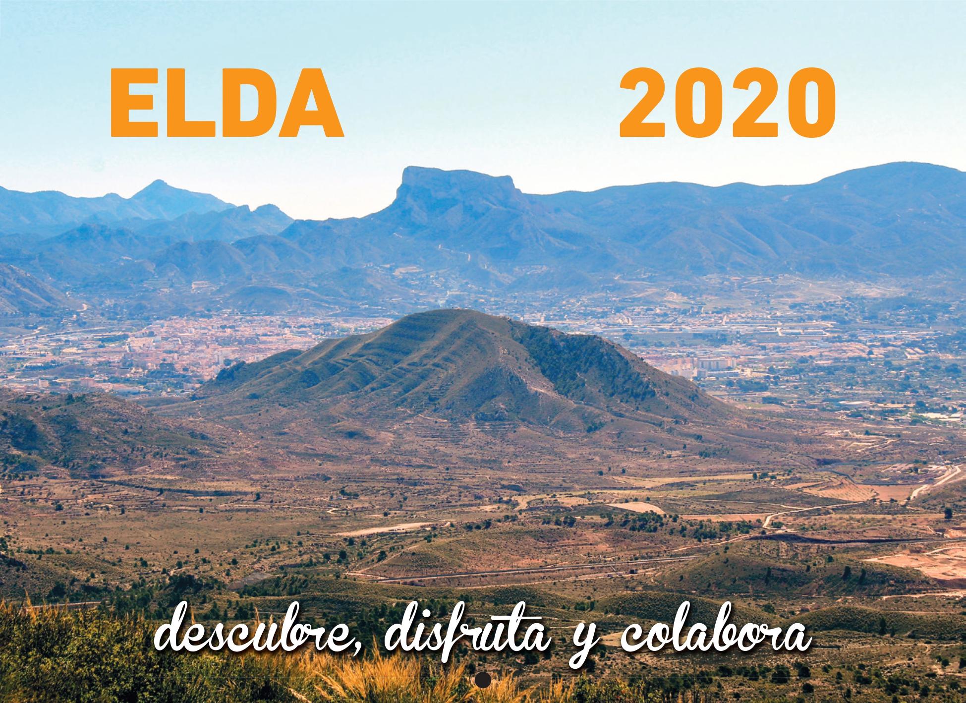 La Concejalía de Medio Ambiente edita y distribuye el calendario 2020 'Elda, descubre, disfruta y colabora'