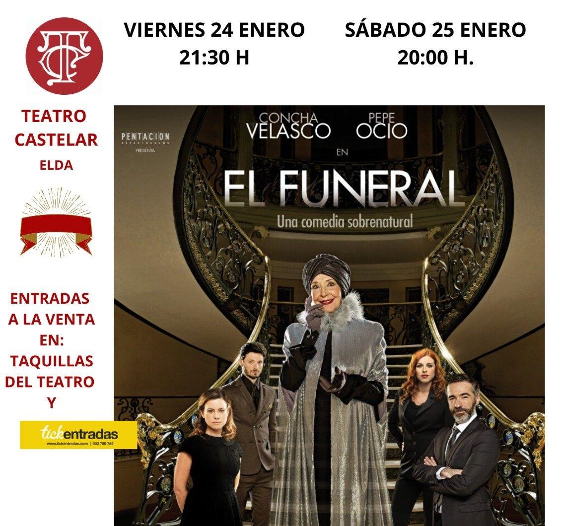 Elda rinde homenaje mañana a Concha Velasco dando su nombre a un asiento del patio de butacas del Teatro Castelar