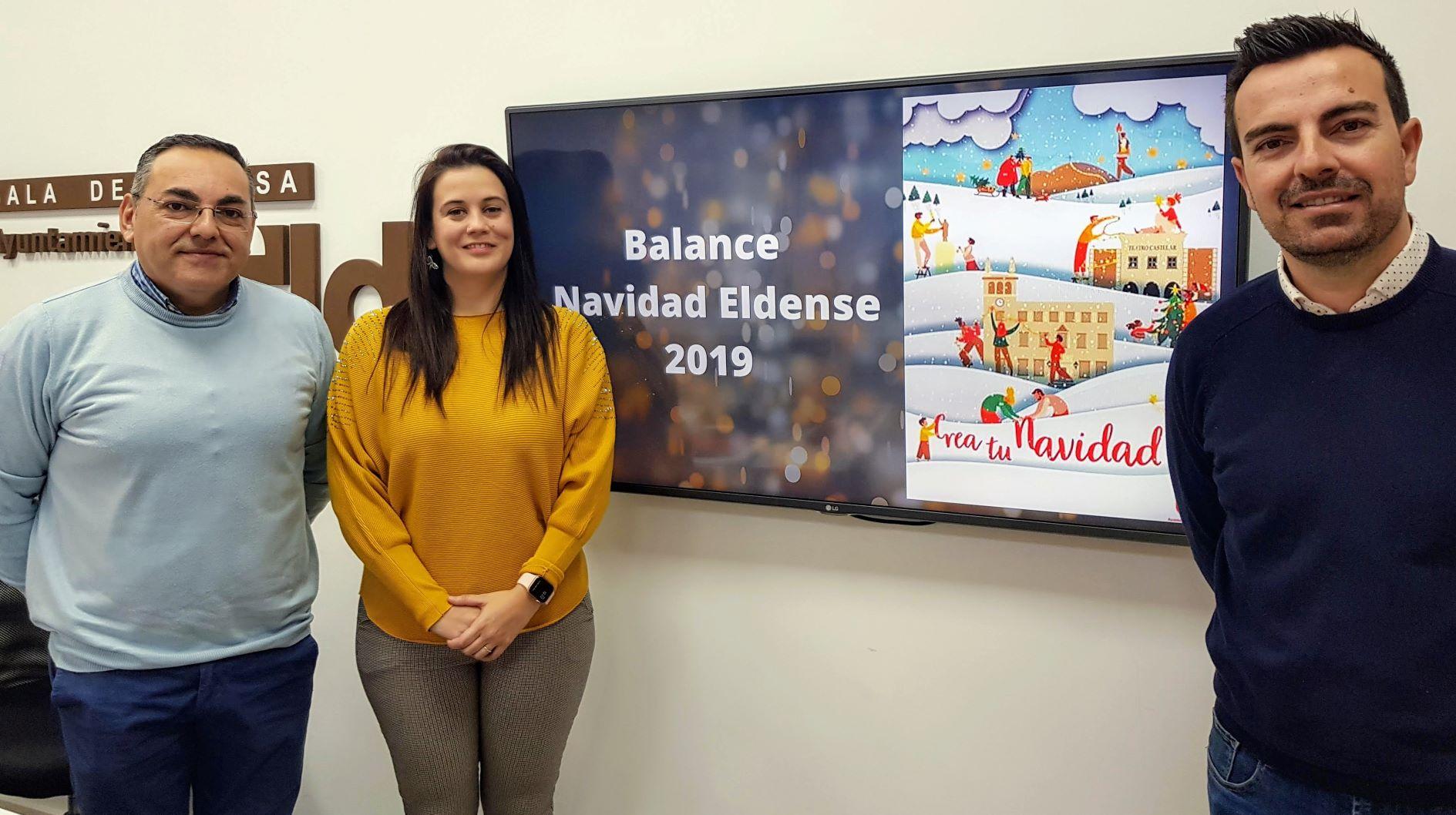 El Ayuntamiento de Elda realiza un balance positivo de una campaña navideña que ha batido las cifras de años anteriores