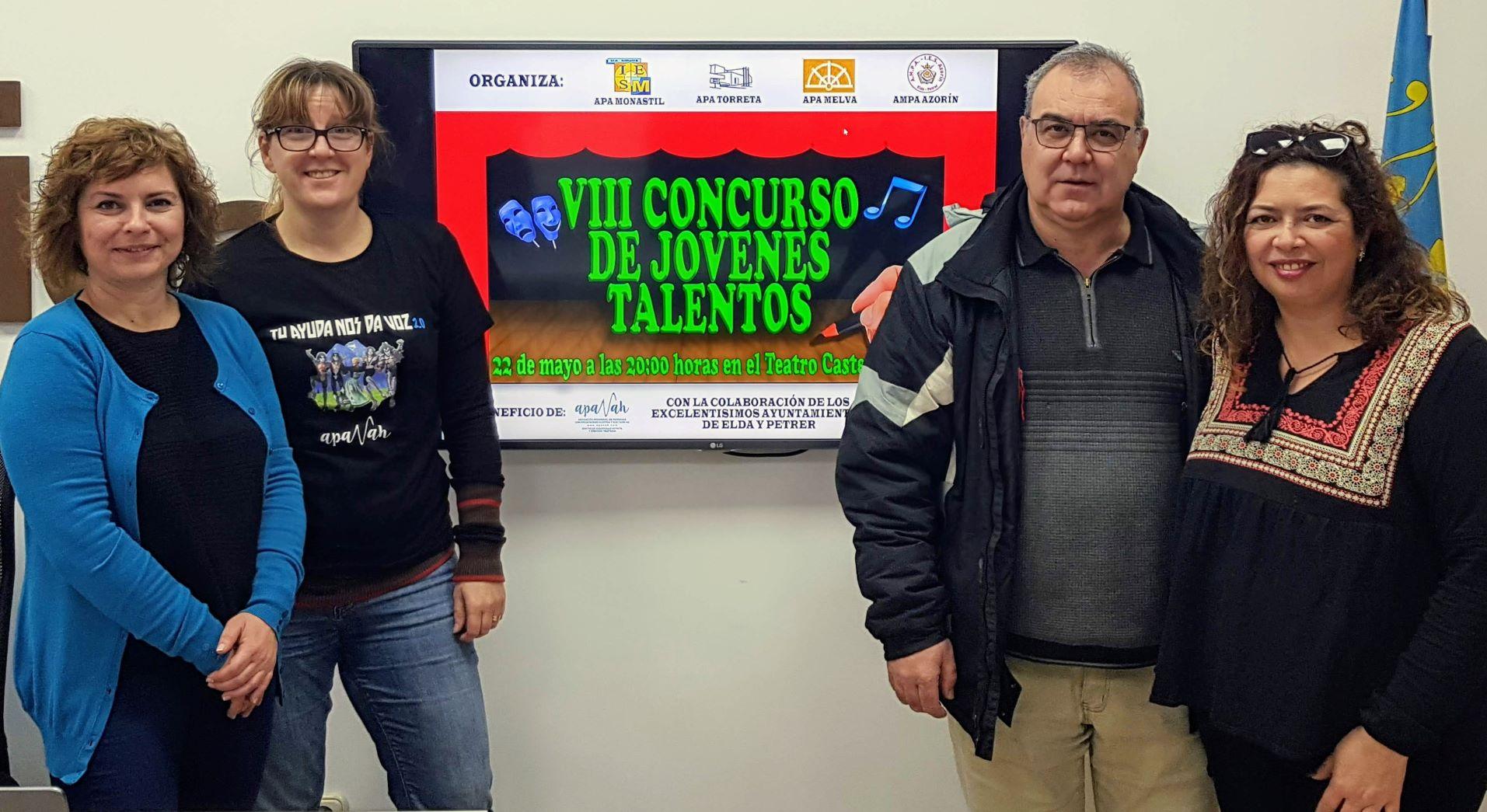 Alumnos de tres IES de Elda y uno de Petrer participarán en el VIII Concurso Jóvenes Talentos 'Valle del Vinalopó'
