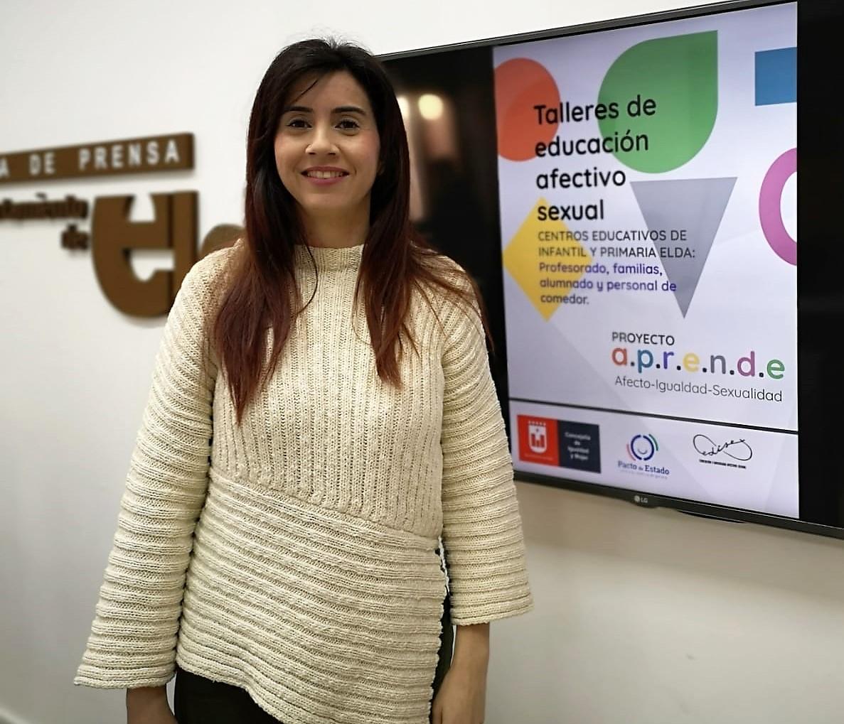 La Concejalía de Igualdad ofrece talleres de educación afectivo sexual para los centros educativos de Elda