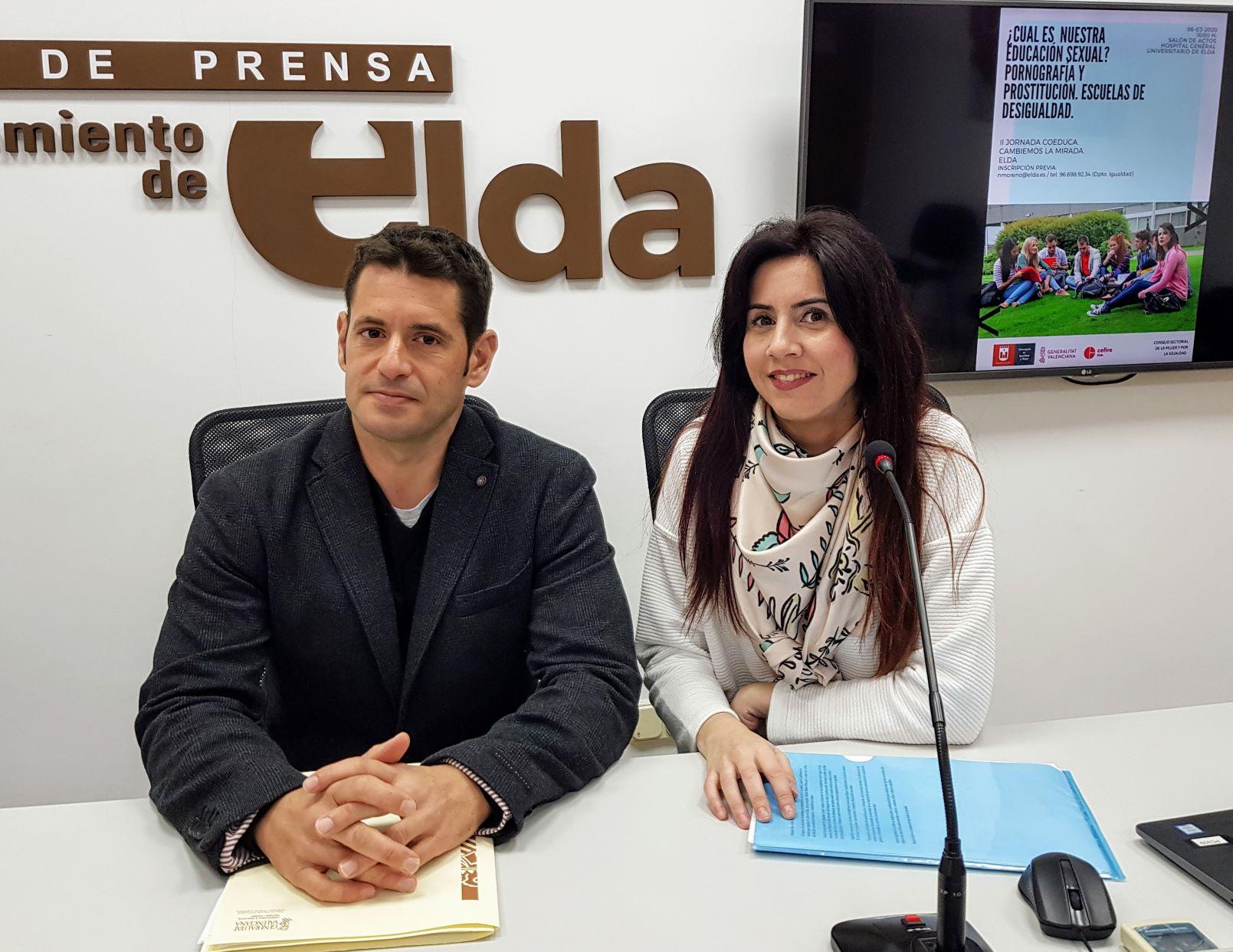 La Concejalía de Igualdad y el Cefire de Elda organizan las II Jornadas Coeduca 'Cambiemos la Mirada'