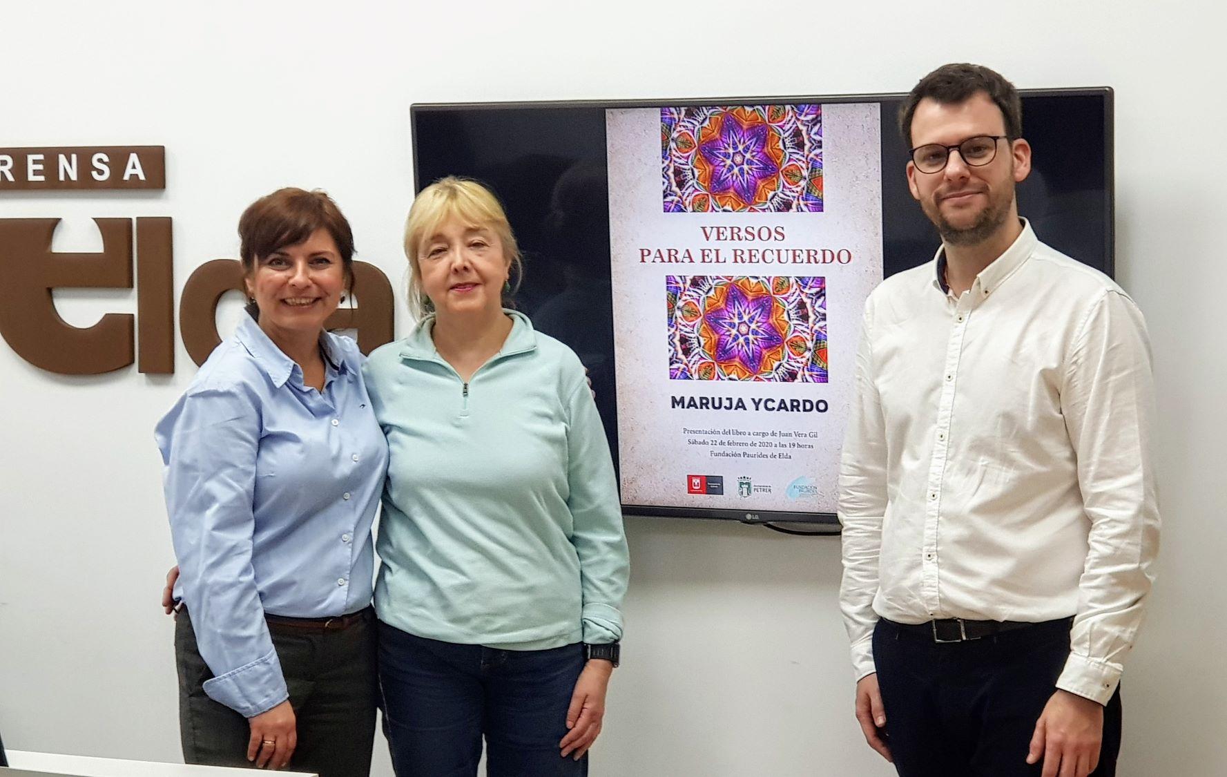 Elda y Petrer rinden homenaje a la poetisa eldense Maruja Ycardo con un libro de versos inéditos