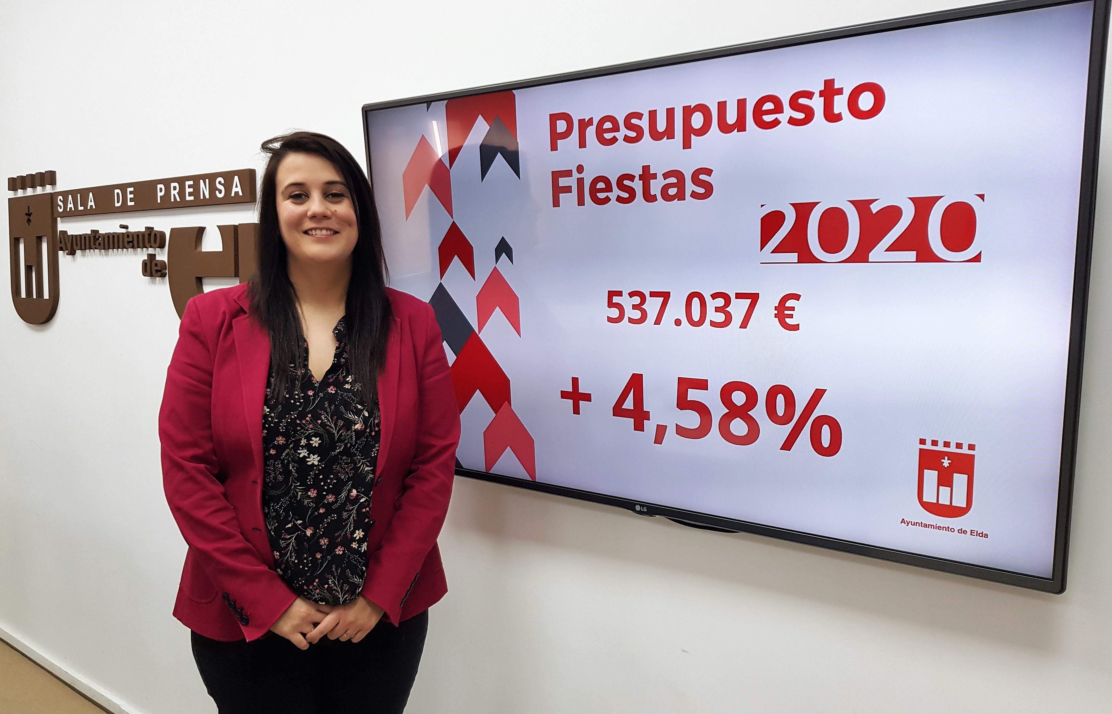 El Ayuntamiento de Elda impulsa las fiestas como motor económico y cultural de la ciudad con una aumento del presupuesto de la Concejalía del 4,58%