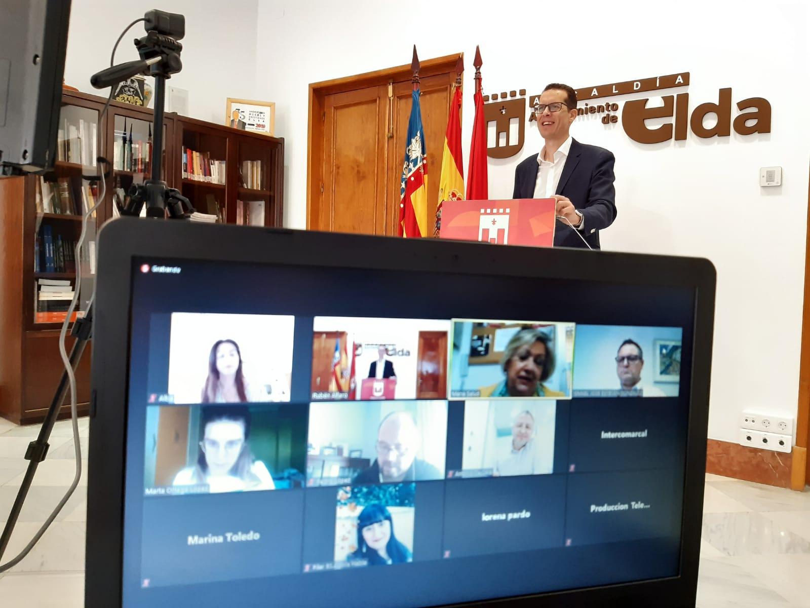 El Ayuntamiento de Elda aumenta la aportación económica a Cruz Roja y a Cáritas para que atiendan a familias eldenses afectadas por la crisis del coronavirus