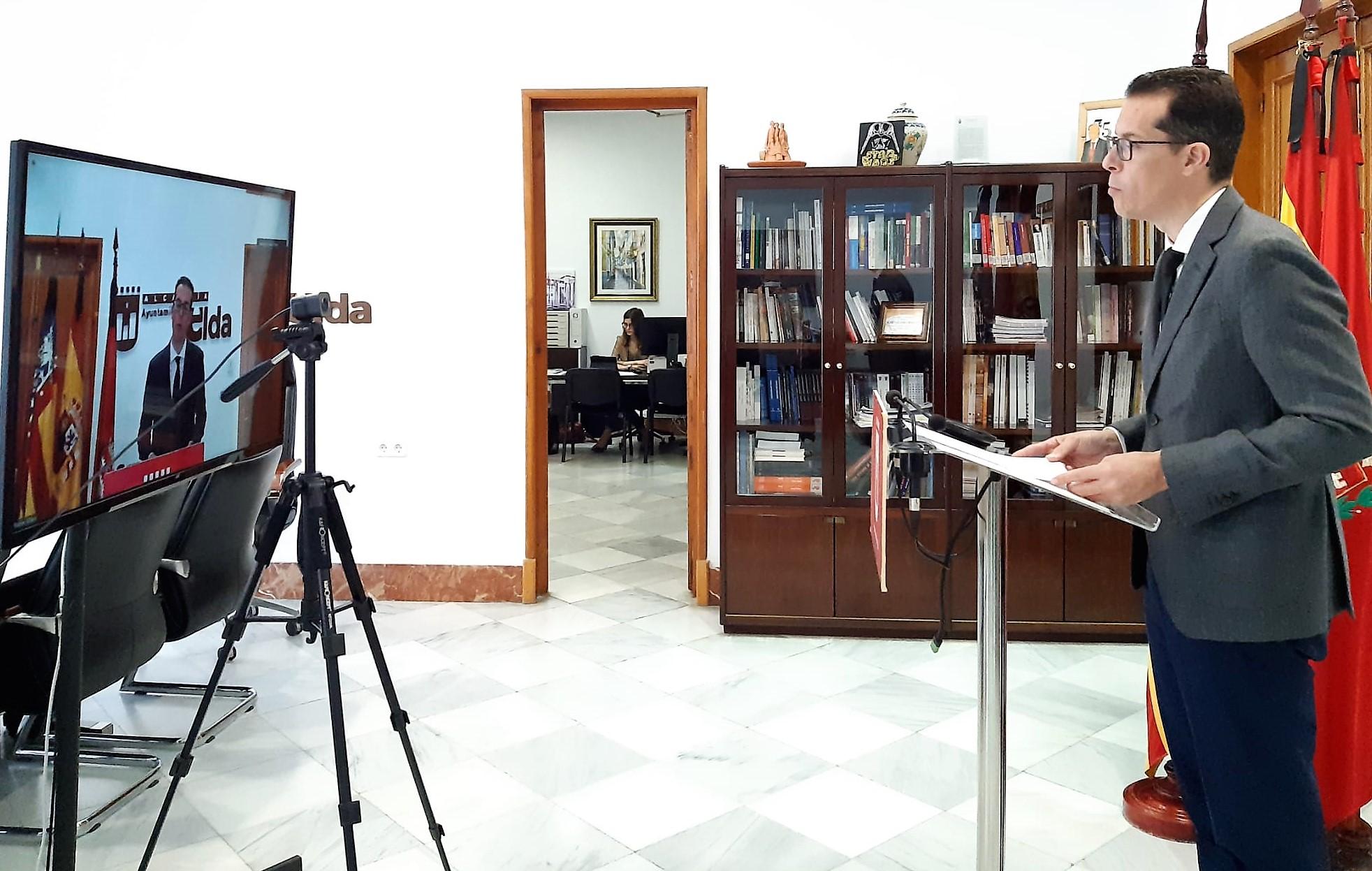 El Ayuntamiento de Elda aprueba el plan de ayudas económicas para autonómos, comercios y pymes dotado con 700.000 euros