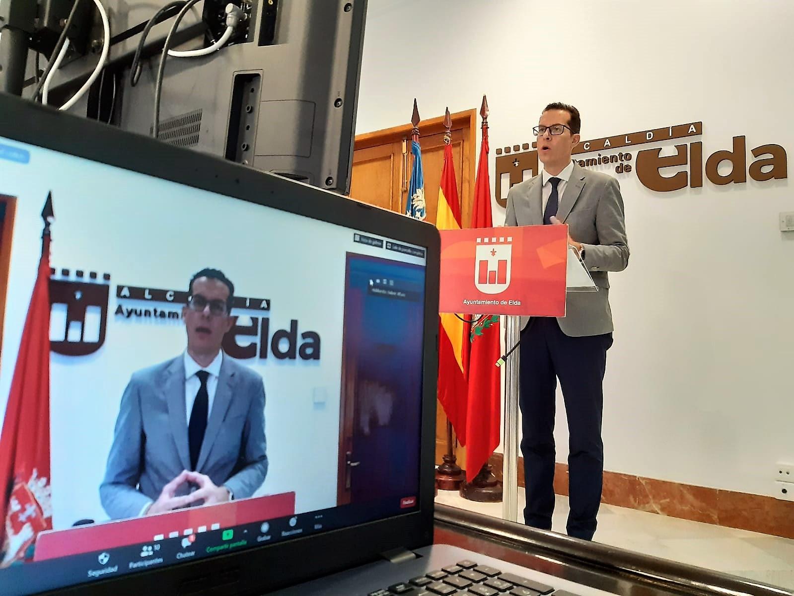El Ayuntamiento de Elda destina cerca de 775.000 euros a ayudas sociales para más de 1.000 familias eldenses afectadas por la crisis sanitaria