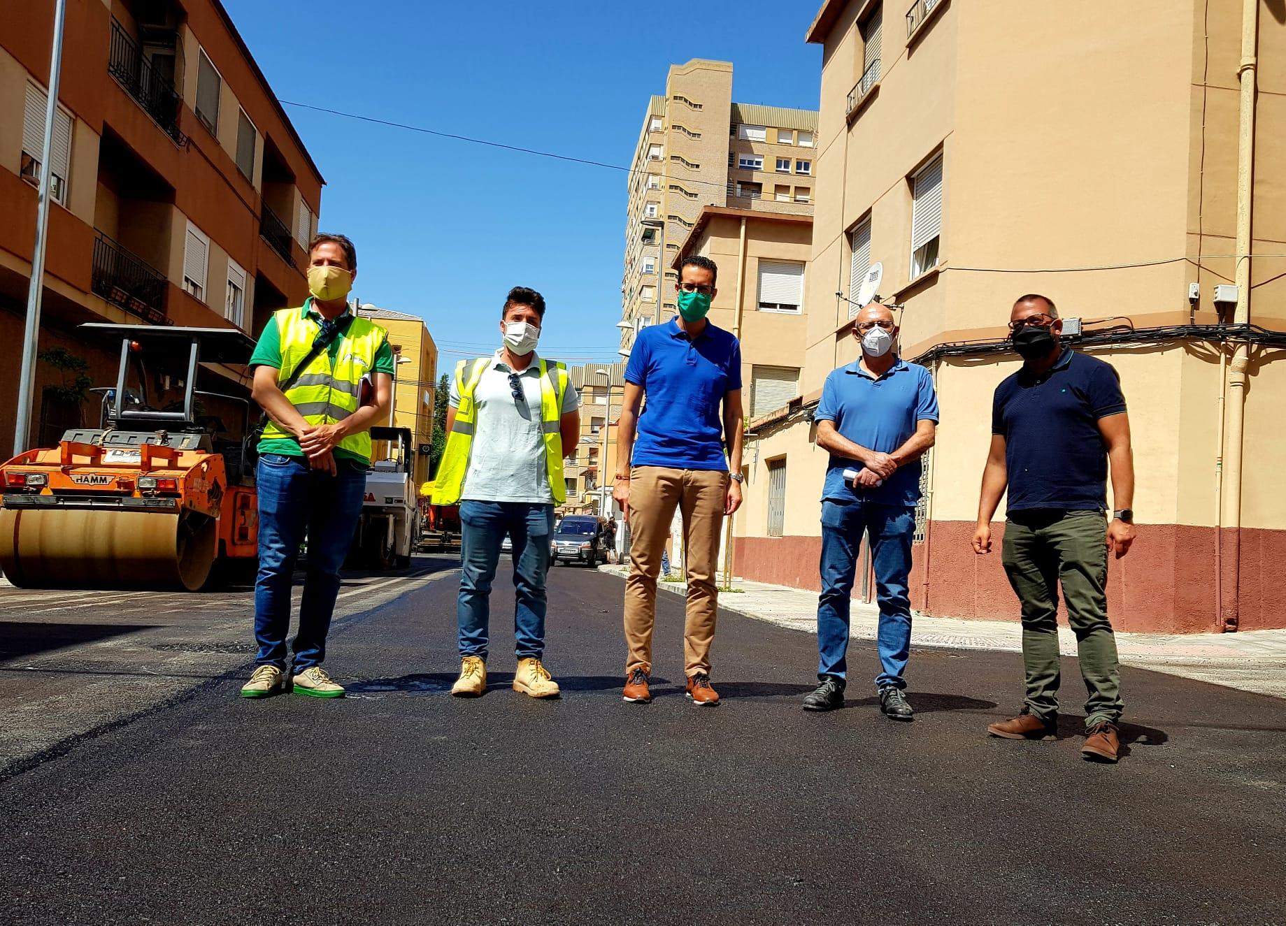 Las obras de remodelación de la calle Maximiliano García y adyacentes serán las primeras con el sello 'Elda, ciudad accesible'