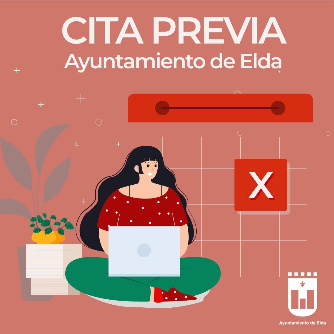 El Ayuntamiento de Elda habilita a partir del próximo lunes la atención presencial con cita previa en varios departamentos