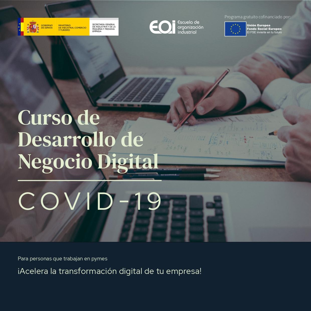 La Escuela de Organización Industrial ofrece tres cursos online especializados para las empresas y autónomos de Elda