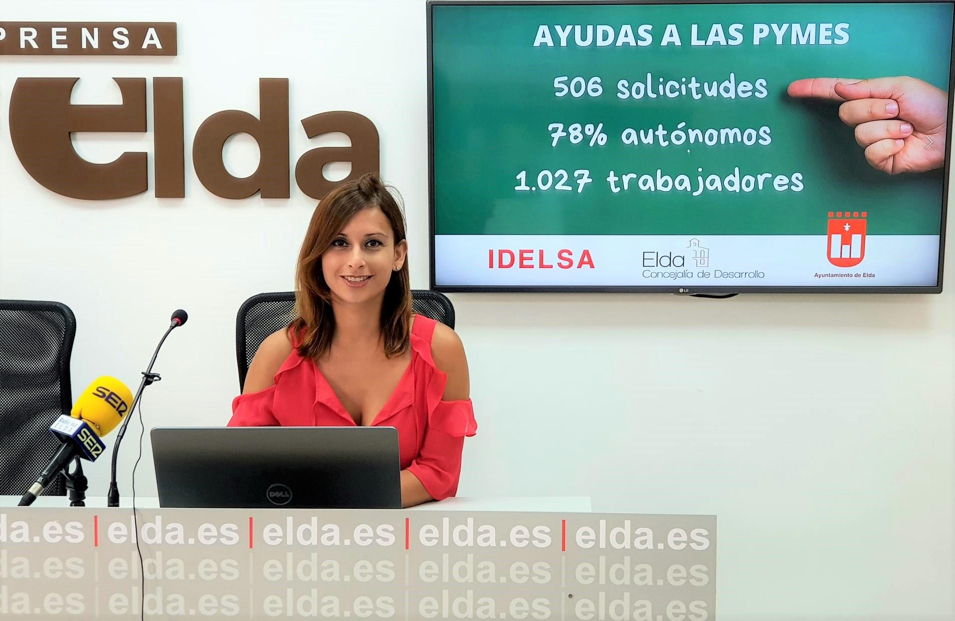 El Ayuntamiento de Elda ha recibido 506 solicitudes para el cobro de las ayudas económicas a autónomos y pymes