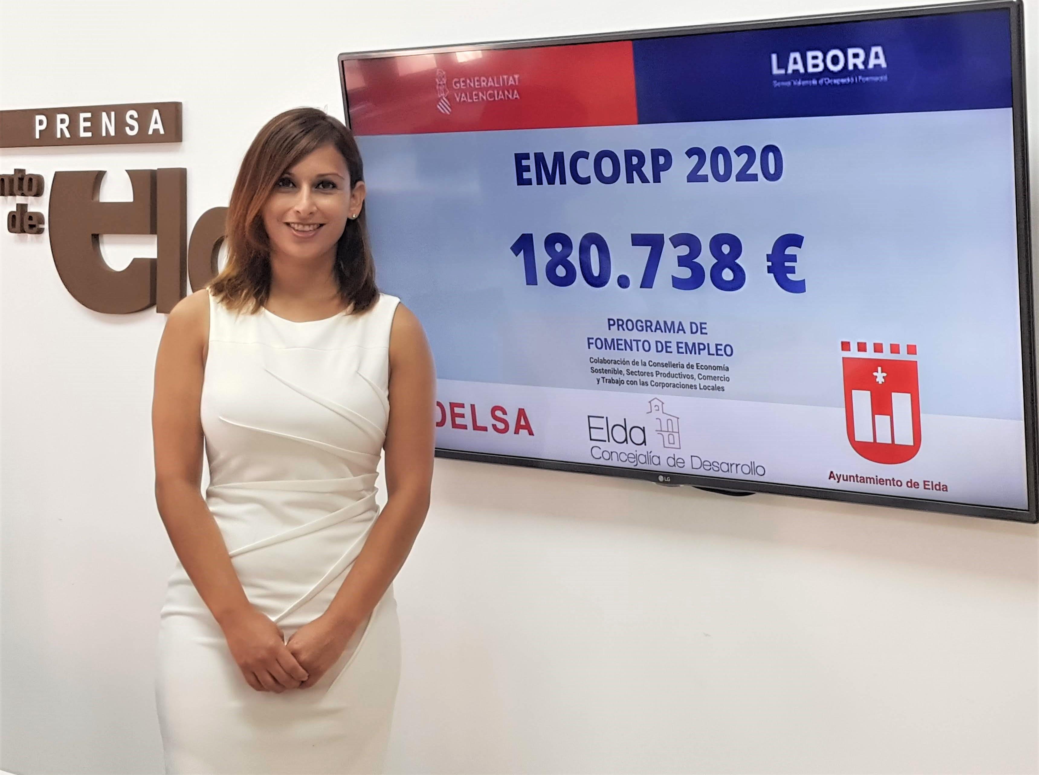Elda recibirá 180.738 euros del programa Emcorp para la contratación de 16 personas desempleadas mayores de 30 años