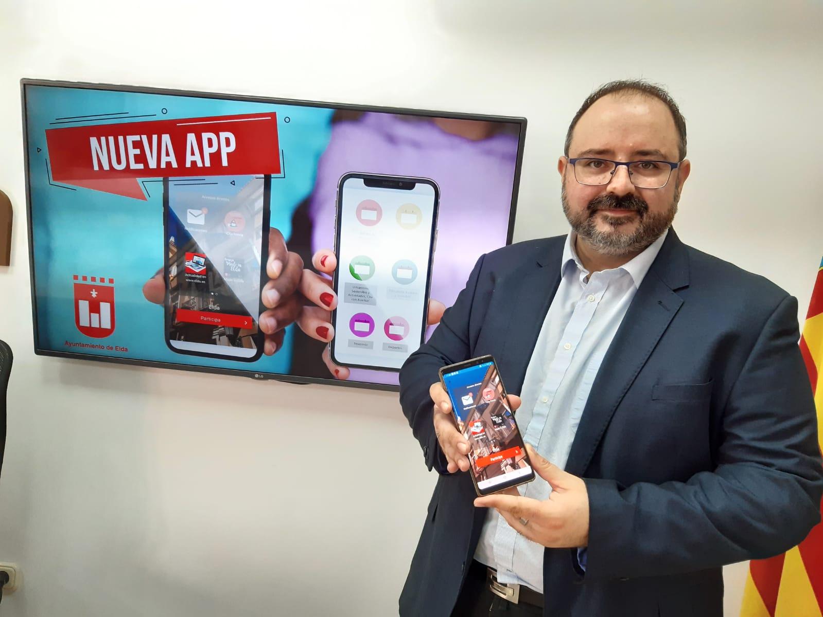 La Concejalía de Modernización pone en marcha una nueva APP para mejorar la comunicación de los ciudadanos y ciudadanas de Elda con el Ayuntamiento