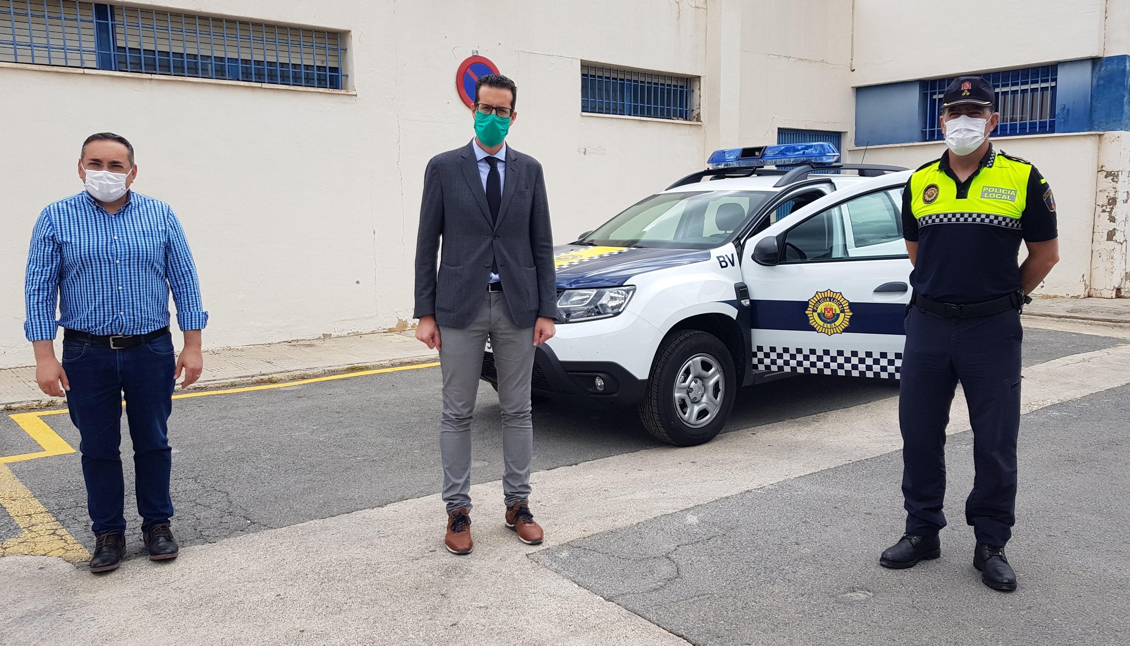 La Concejalía de Seguridad Ciudadana incorpora un nuevo coche patrulla a la flota de la Policía Local de Elda