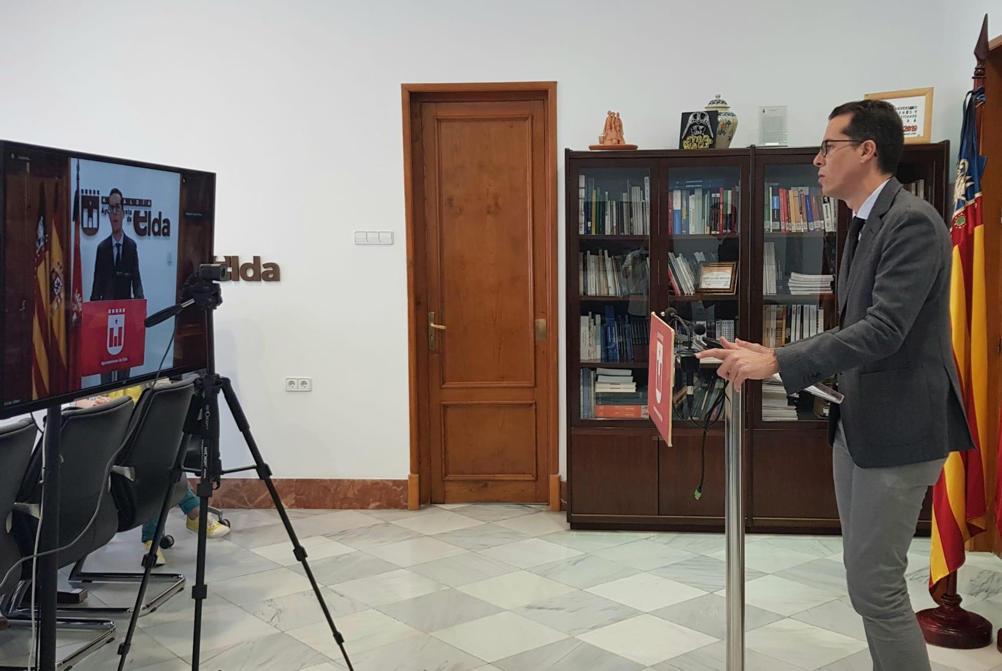 El Ayuntamiento de Elda reabrirá los mercadillos con la entrada de la ciudad en la fase 3 y trasladará el de Virgen de la Cabeza a la calle Jaime Balmes