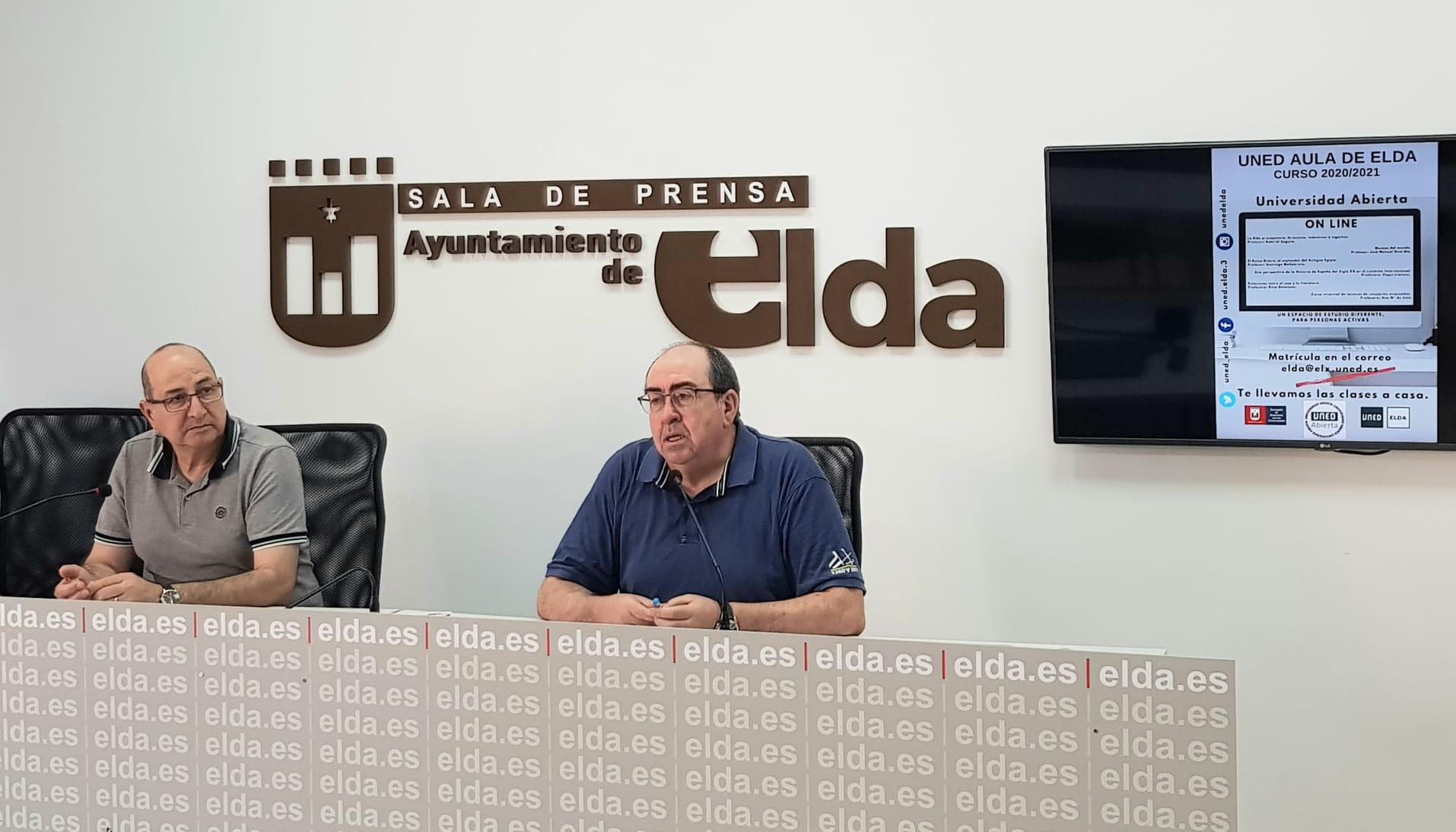 La UNED de Elda pone en marcha el programa de la Universidad Abierta, que este curso se impartirá de manera online