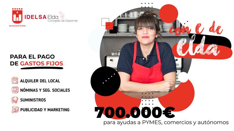 El Ayuntamiento de Elda ha recibido 362 solicitudes de ayudas para pymes, autónomos y comercios en los cuatro primeros días