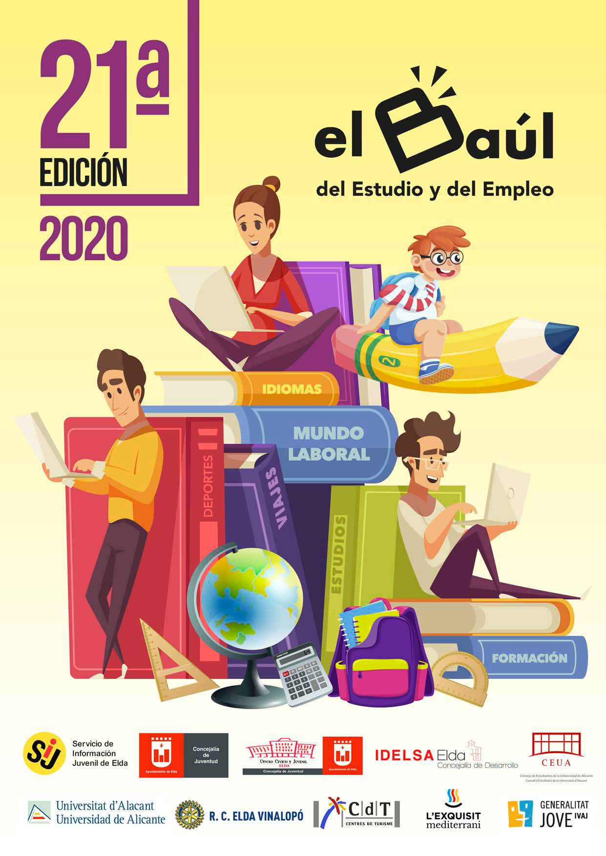 La Concejalía de Juventud lanza la versión digital de la Guía del Baúl del Estudio y del Empleo