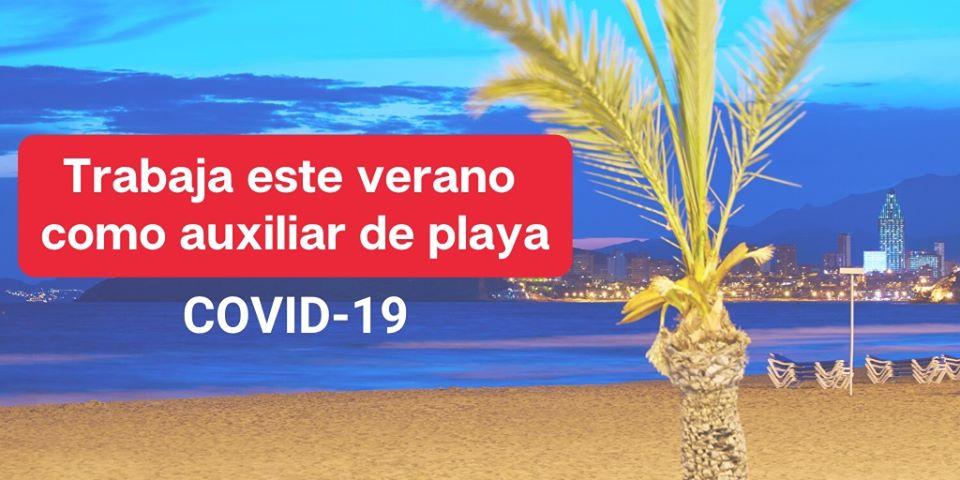 La Generalitat inicia el proceso de selección para contratar a 418 jóvenes que quieran trabajar como auxiliares de playas en la provincia de Alicante